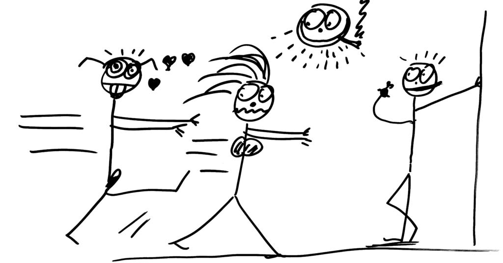 Balení holek: nahánění vs vytrvalost