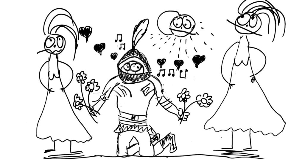 Bílý rytíř Kamil a jeho trampoty