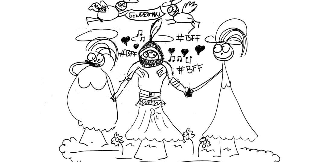 Bílý rytíř Kamil a gendermanovo desatero